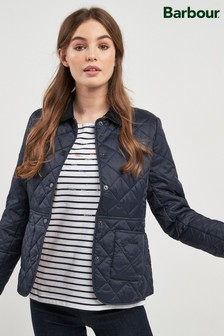 Barbour® Navy Deveron Quilt Jacket