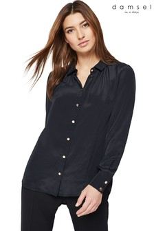 Damsel In A Dress Black Annah Blouse