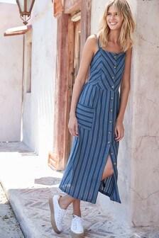 שמלה בדוגמת פסים