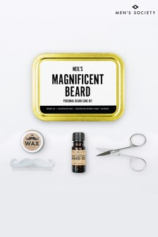 Personalised Beard Grooming Kit by Mens Society