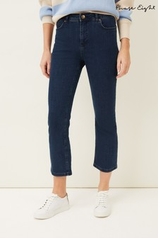 Phase 8 Blue Elsie Kick Flare Jeans