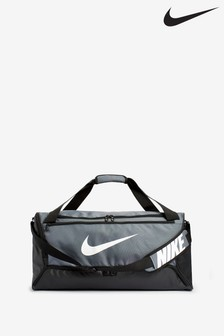 Nike Brasilia Grey Training Duffle Bag