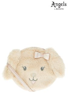 Angels By Accessorize Mia Puppy Fluffy Across Body Bag