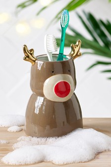 Reindeer Storage Pot