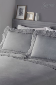 Serene Renaissance Duvet Cover and Pillowcase Set