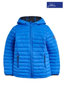 Joules Blue Cairn Boys Dazzling Packable Jacket