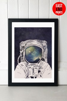 Dreaming of Space by Tracie Andrews Framed Print