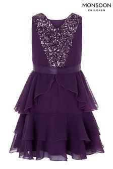 Monsoon Purple Martella Dress