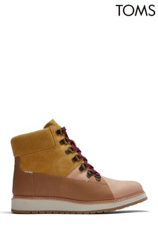 TOMS Mesa Waterproof Leather Hiker Boots