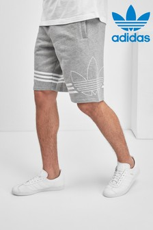 adidas Originals Light Grey Outline Short