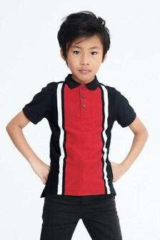 Vertical Block Poloshirt (3-16yrs)