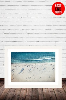Salty Air by Honeymoon Hotel Framed Print