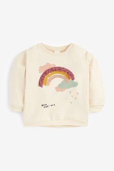 Rainbow Confetti Sweatshirt (3mths-7yrs)