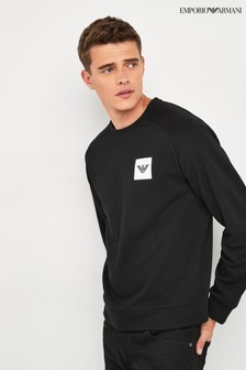 Emporio Armani Black Logo Sweater