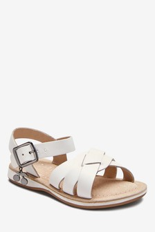 Charm Leather Sandals (Younger)