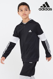 adidas Performance Black Zip Through Hoody
