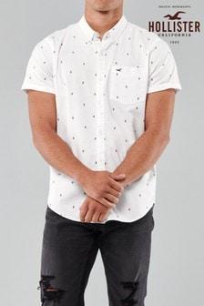 Hollister Geo Cacti Print Shirt