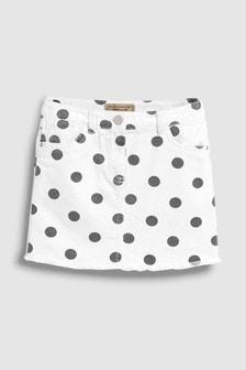 Spot Print Skirt (3-16yrs)