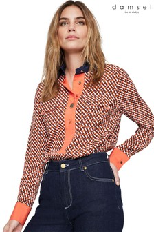 Damsel In A Dress Multi Eden Contrast Print Shirt
