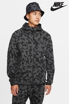 Nike Tech Fleece Black Winterized Hoody