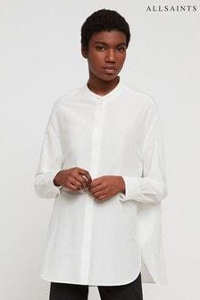 AllSaints White Emi Shirt