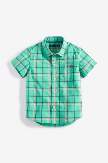 Short Sleeve Check Shirt (3mths-7yrs)