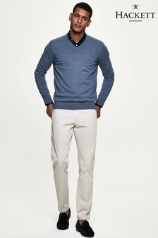 Hackett Grey Trinity 5 Pocket Trousers