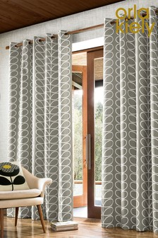 Orla Kiely Exclusive To Next Linear Eyelet Curtains