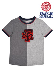 Franklin & Marshall Cut And Sew Tee