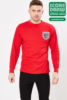 Score Draw England 1966 World Cup Final Retro Jersey