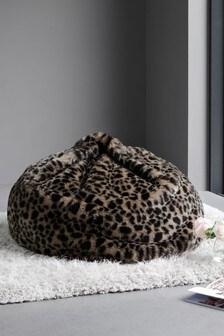 Faux Fur Bean Bag