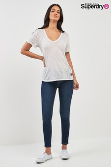 Superdry Dark Wash Alexa Jegging