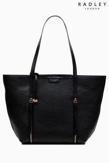 Radley Black Large Tote Shoulder Open Top Bag