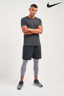Nike Dri-FIT Grey 3/4 Tight