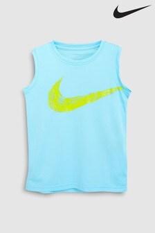 Nike Bright Blue Swoosh Vest