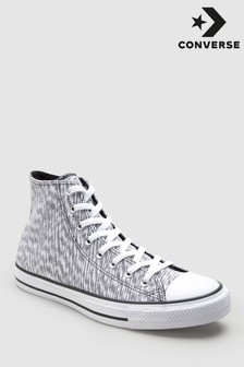 Converse Grey Blurred Chuck High Trainer