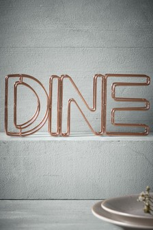 Wire Decorative Word