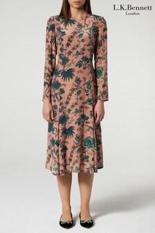 שמלה של L.K.Bennett דגם Noah בוורוד