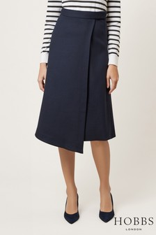Hobbs Blue Julianna Skirt