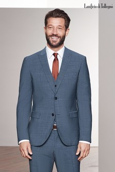 Signature Textured Stretch Suit