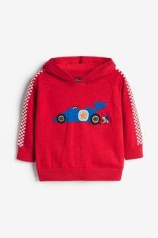 Car Knitted Hoody (3mths-7yrs)