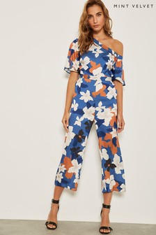 Mint Velvet Margot Print Jumpsuit