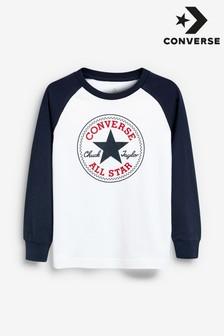 Converse Chuck Patch Langärmeliges Raglan-Shirt