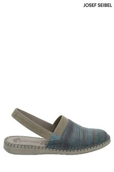 Josef Seibel Blue Sofie Slip On Shoes