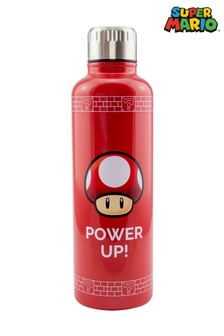 Super Mario Power Up Water Bottle