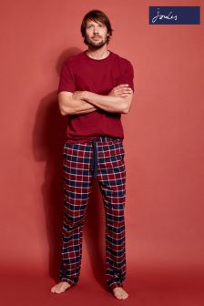 Joules Red Check Lounge Set
