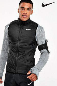 Nike Black Aero Layer Running Vest