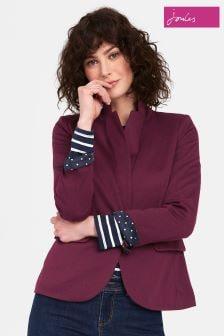 Joules Purple Mollie Jersey Blazer