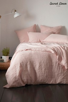 Secret Linen Store Linen Duvet Cover