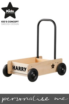 Personalised Toy Trolley by Swedish Concepts